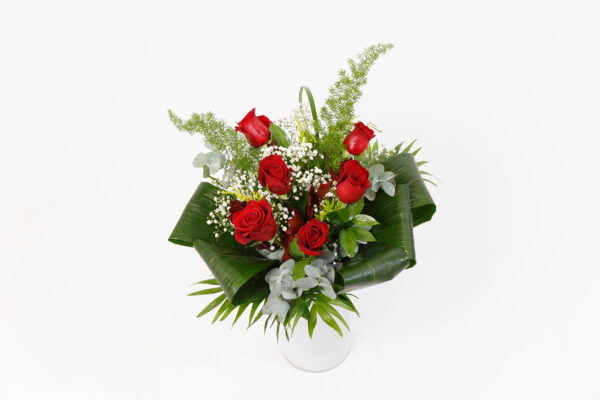 Ramo de 6 Rosas rojas